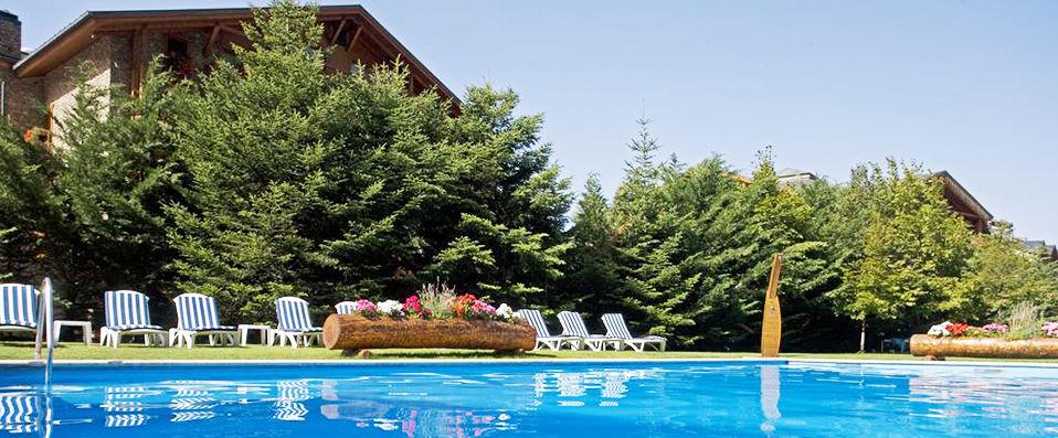 Sport Hotel Hermitage & Spa ***** - Andorre -