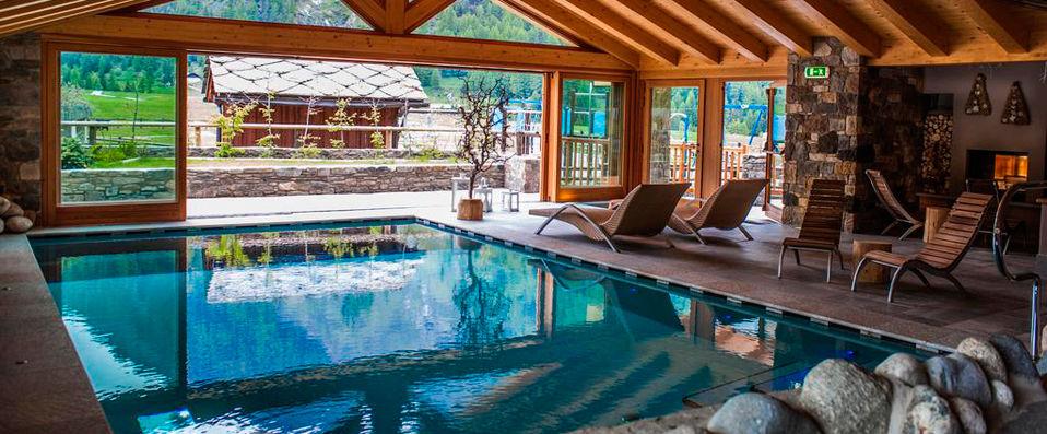 Hotel Sant'Orso & Wellness Le Bois **** - Vallée d'Aoste -