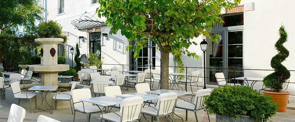 Grand Hôtel Henri **** - Vaucluse - hotel - vente-privee - promo - vente-flash - verychic
