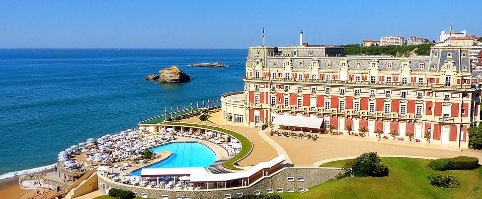 Hôtel du Palais ***** - Biarritz - hotel - vente-privee - promo - vente-flash
