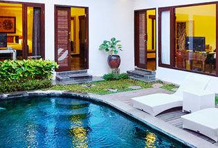 Villa 1 Chambre avec piscine privée