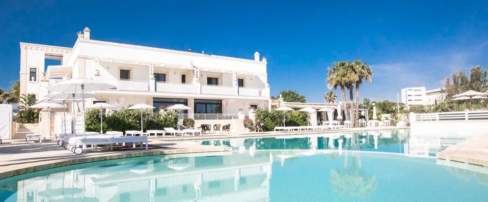 Canne Bianche_Lifestyle Hotel ***** - Les Pouilles -