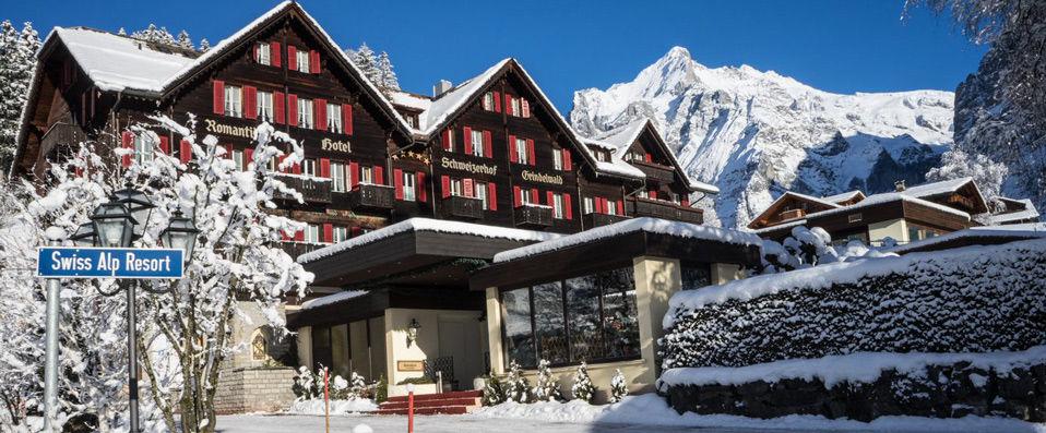 Romantik Hotel Schweizerhof ***** - Berne -