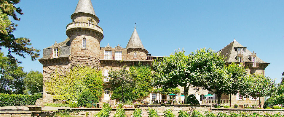 Château de Castel Novel **** - Corrèze - hotel - vente-privee - promo - vente-flash - verychic