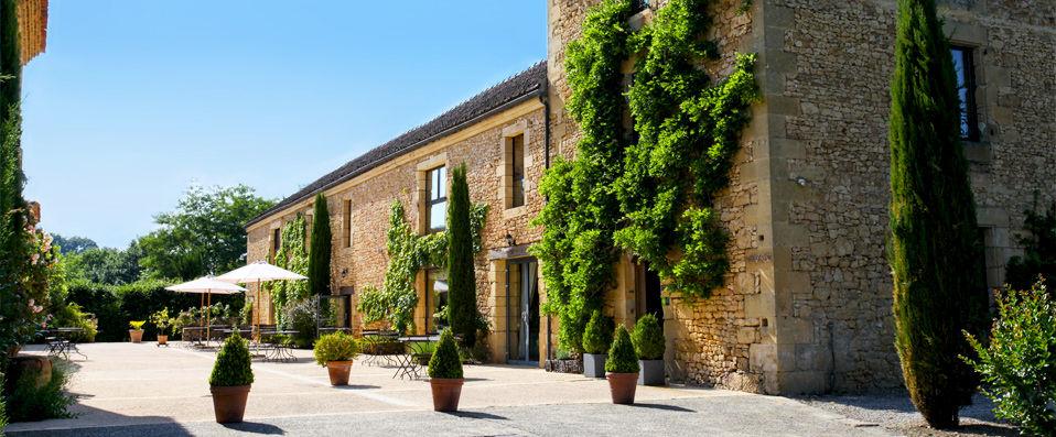 La Villa Romaine **** - Dordogne - hotel - vente-privee - promo - vente-flash - verychic