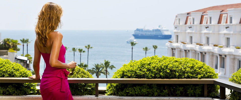Hôtel Barrière Le Gray d' Albion **** - Cannes - hotel - vente-privee - promo - vente-flash - verychic