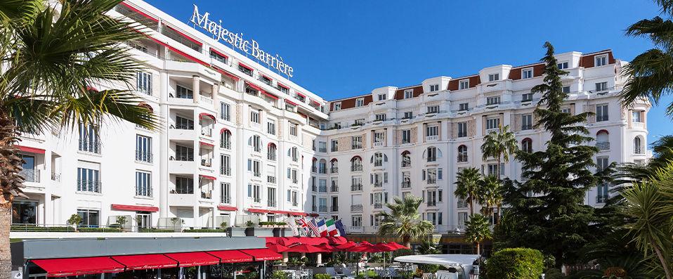 Hôtel Barrière Le Majestic Cannes ***** - Cannes -