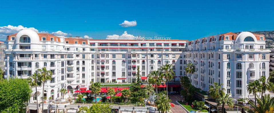 Hôtel Barrière Le Majestic ***** - Cannes -