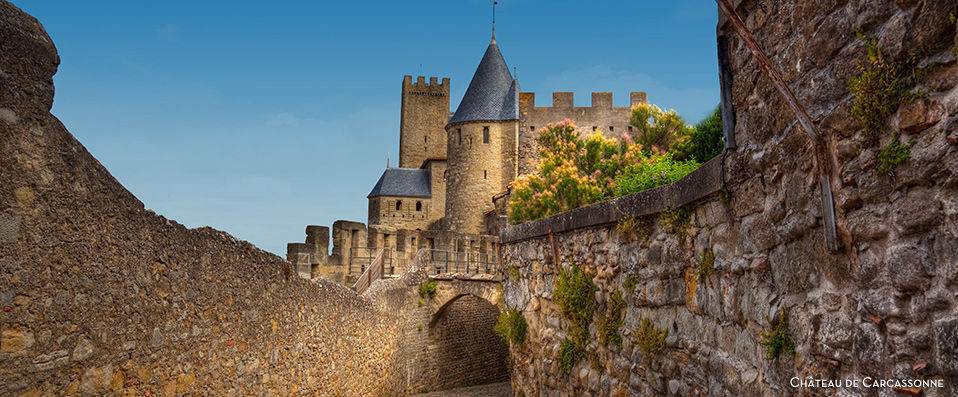 best western h tel le donjon carcassonne verychic ventes priv es d 39 h tels extraordinaires. Black Bedroom Furniture Sets. Home Design Ideas