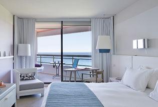 Chambre Supérieure avec terrasse vue mer