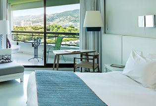 Chambre Supérieure avec terrasse vue golf