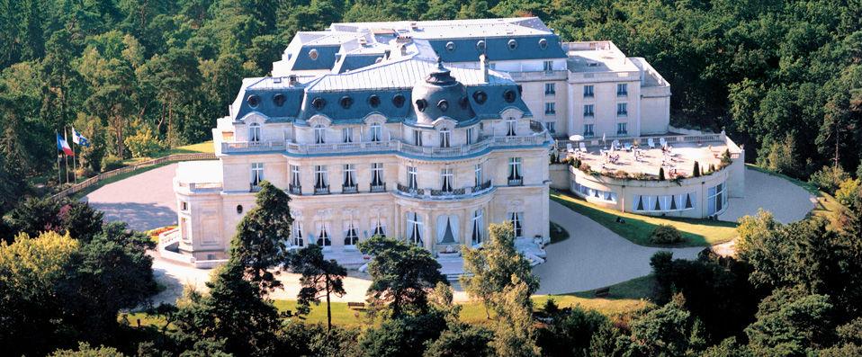 Tiara Château Hôtel Mont Royal Chantilly ***** - Chantilly - hotel - vente-privee - promo - vente-flash - verychic
