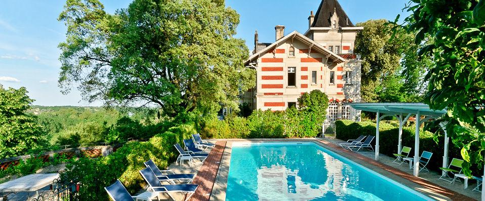 Hôtel l'Yeuse **** - Cognac - hotel - vente-privee - promo - vente-flash - verychic