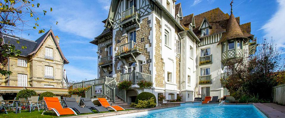 Villa Augeval Hôtel & Spa - Deauville - hotel - vente-privee - promo - vente-flash - verychic