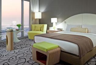 Chambre Luxury vue sur le Burj Khalifa