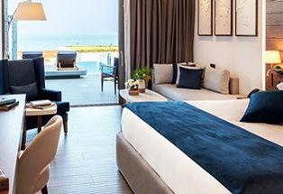 Suite Junior Deluxe vue mer avec piscine privée chauffée
