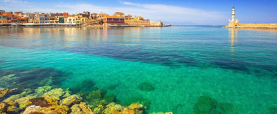 Autotour la Crète d'Est en Ouest en hôtels 5*