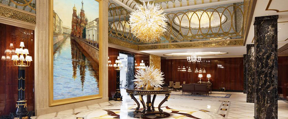 lotte hotel st petersburg saint p tersbourg verychic ventes priv es d 39 h tels. Black Bedroom Furniture Sets. Home Design Ideas