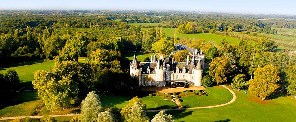 Hôtel Château Golf des Sept Tours By Popinns - Val de Loire - hotel - vente-privee - promo - vente-flash - verychic