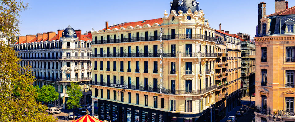 Hôtel Carlton Lyon - MGallery by Sofitel **** - Lyon - hotel - vente-privee - promo - vente-flash - verychic