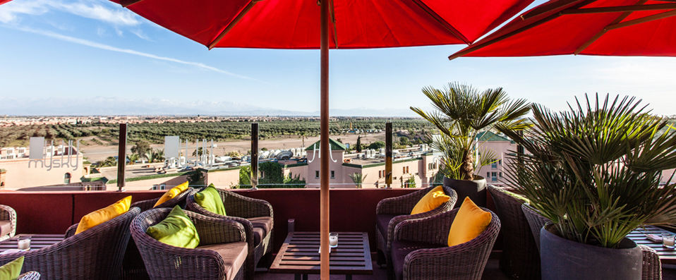 Hivernage Hotel & Spa ***** - Marrakech -