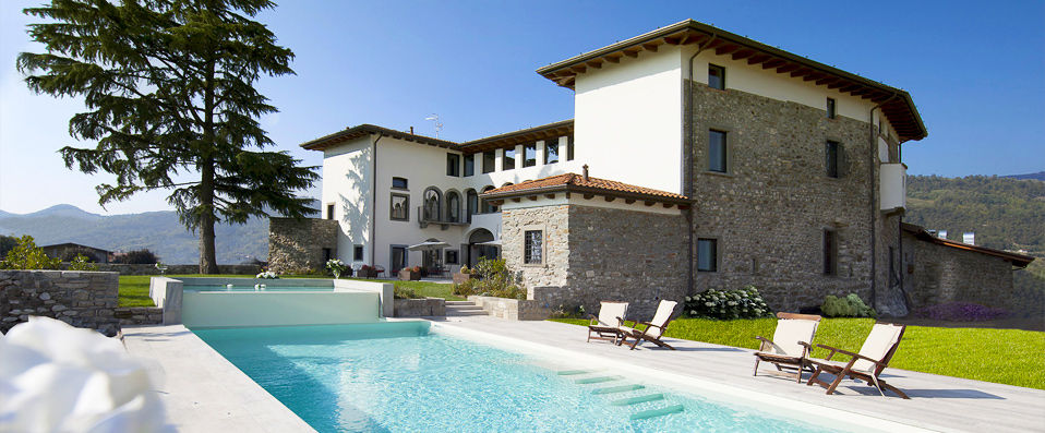 Podere Castel Merlo - Lac d'Iseo -