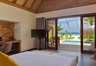 Villa Plage Sunrise avec piscine privée