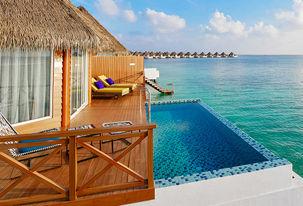 Villa sur Pilotis avec piscine privée