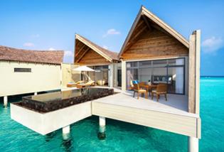 Villa Overwater Océan avec piscine privée