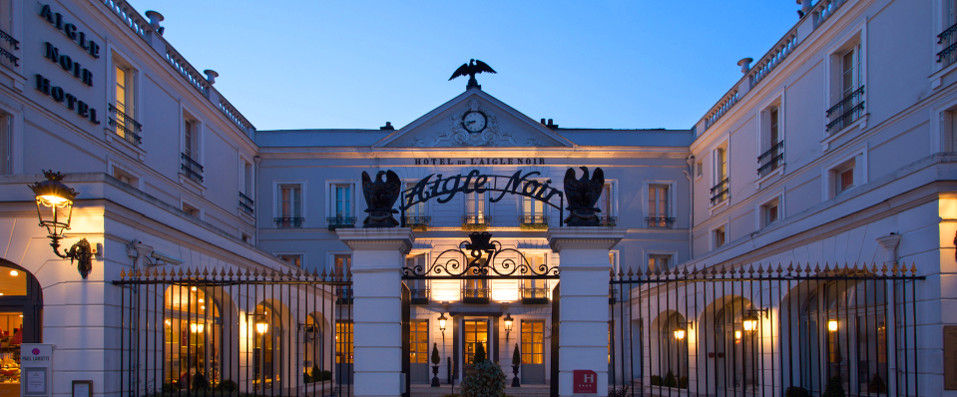 Aigle Noir Hôtel **** - Fontainebleau -