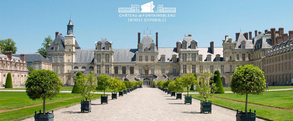 Aigle Noir Hôtel **** - Entrées Château de Fontainebleau disponibles - Fontainebleau - hotel - vente-privee - promo - vente-flash - verychic