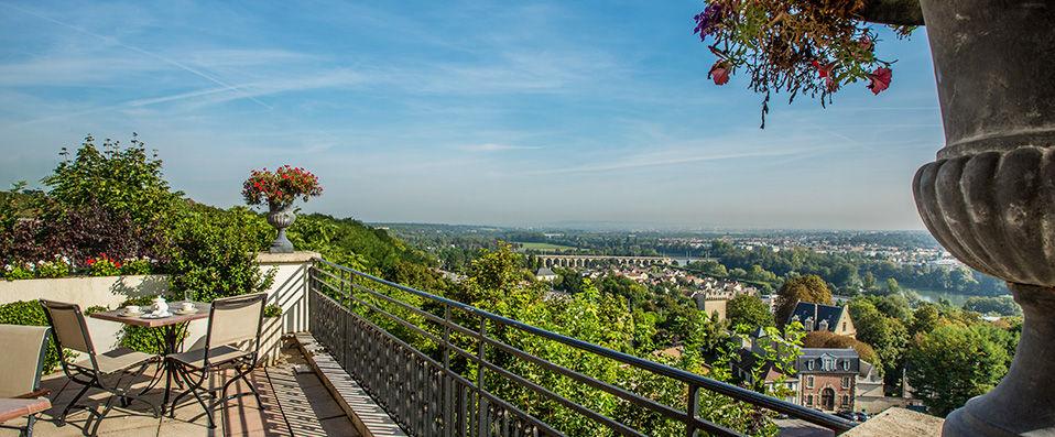 Pavillon Henri IV **** - Saint-Germain-en-Laye -