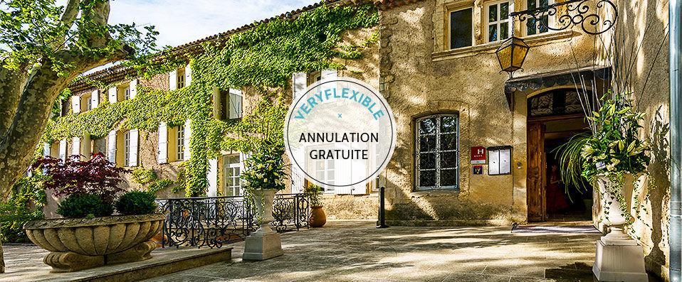 Moulin de Vernègues Hôtel & Spa **** - Luberon -