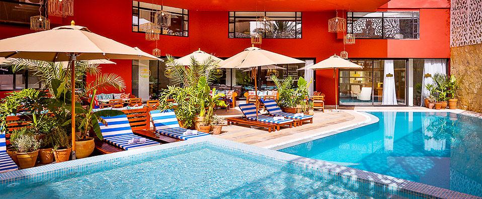 2ciels boutique h tel marrakech verychic ventes priv es d 39 h tels extraordinaires. Black Bedroom Furniture Sets. Home Design Ideas