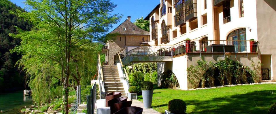 Hôtel de la Muse et du Rozier **** - Aveyron - hotel - vente-privee - promo - vente-flash - verychic