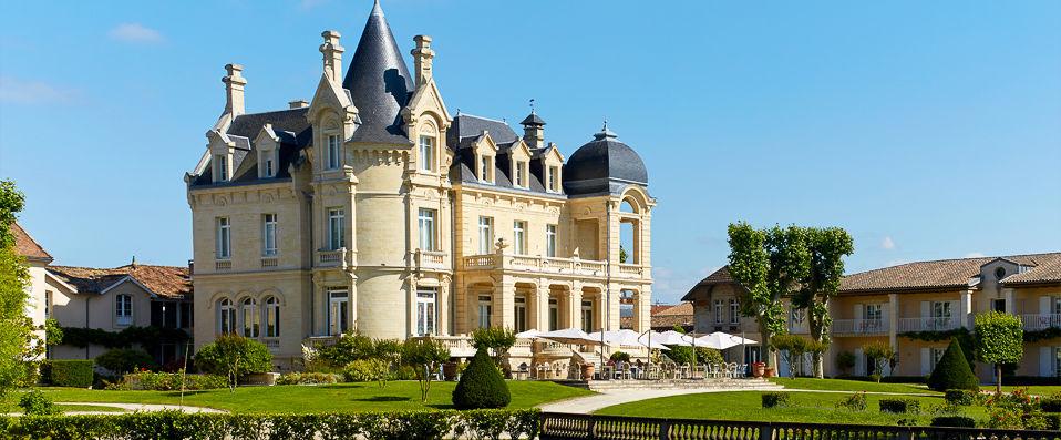 Château Hôtel Grand Barrail ***** - Saint-Émilion -