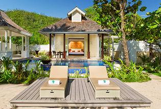 Villa avec piscine vue océan