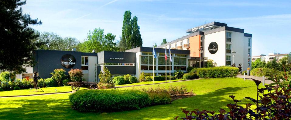 Hôtel Diana Restaurant & Spa **** - Alsace -