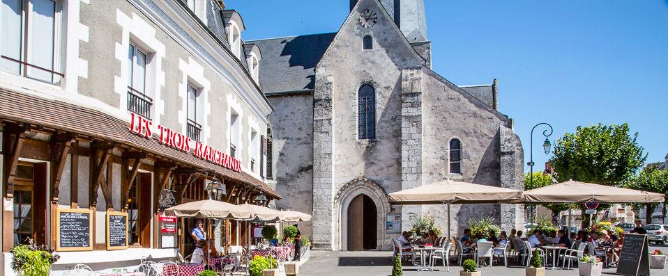 Relais des Trois Châteaux  **** - Loir-et-Cher - hotel - vente-privee - promo - vente-flash - verychic