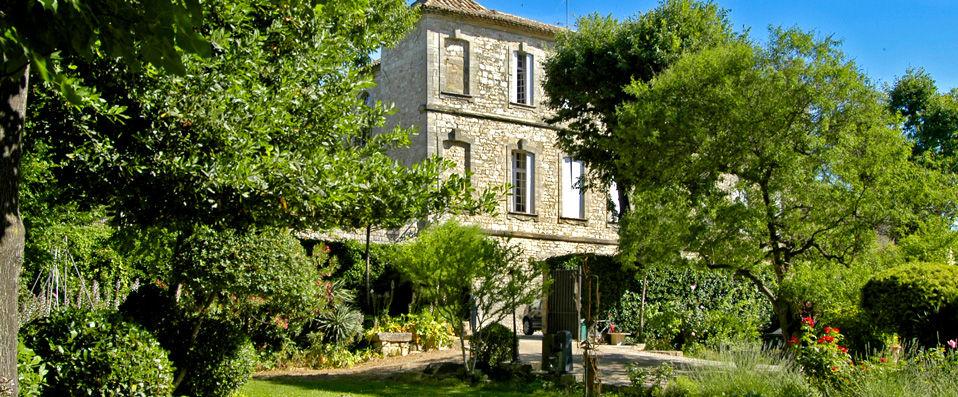 Une offre exceptionnelle. Château d'Arpaillargues à -37%.