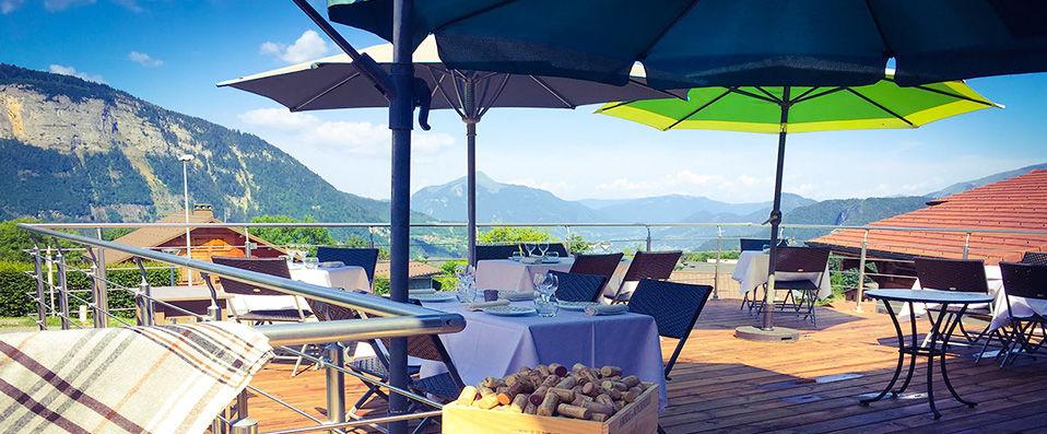 La Croix de Savoie & Spa **** - Haute-Savoie - hotel - vente-privee - promo - vente-flash - verychic