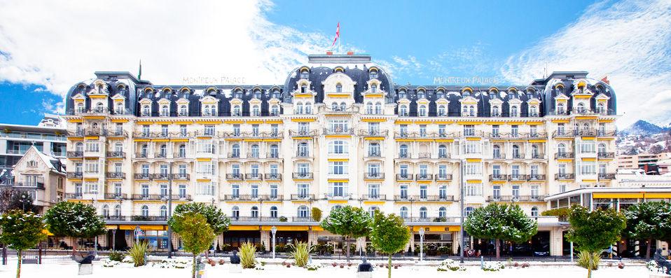 Fairmont Le Montreux Palace ***** - Montreux -